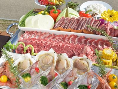 【7/16~8/31限定】夕食は海辺のガーデンレストランでBBQ♪