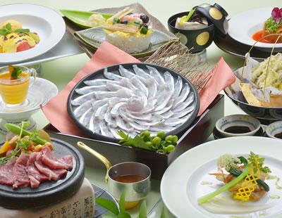10月☆季節のスタンダード和洋折衷懐石 (鮮魚刺身二種・天然桜鯛しゃぶ・小鰯天婦羅・特選牛)