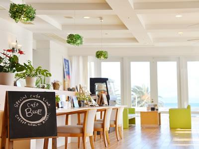 ホテル内 喫茶スペース Café BLUE(カフェブルー) のご案内