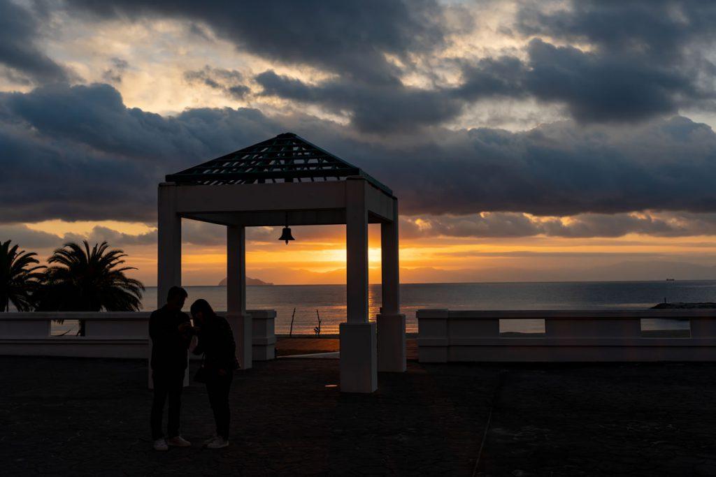 山口県で一番早く朝日が昇る周防大島